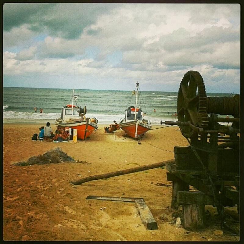 Punta del Diablo Praia Los Botes