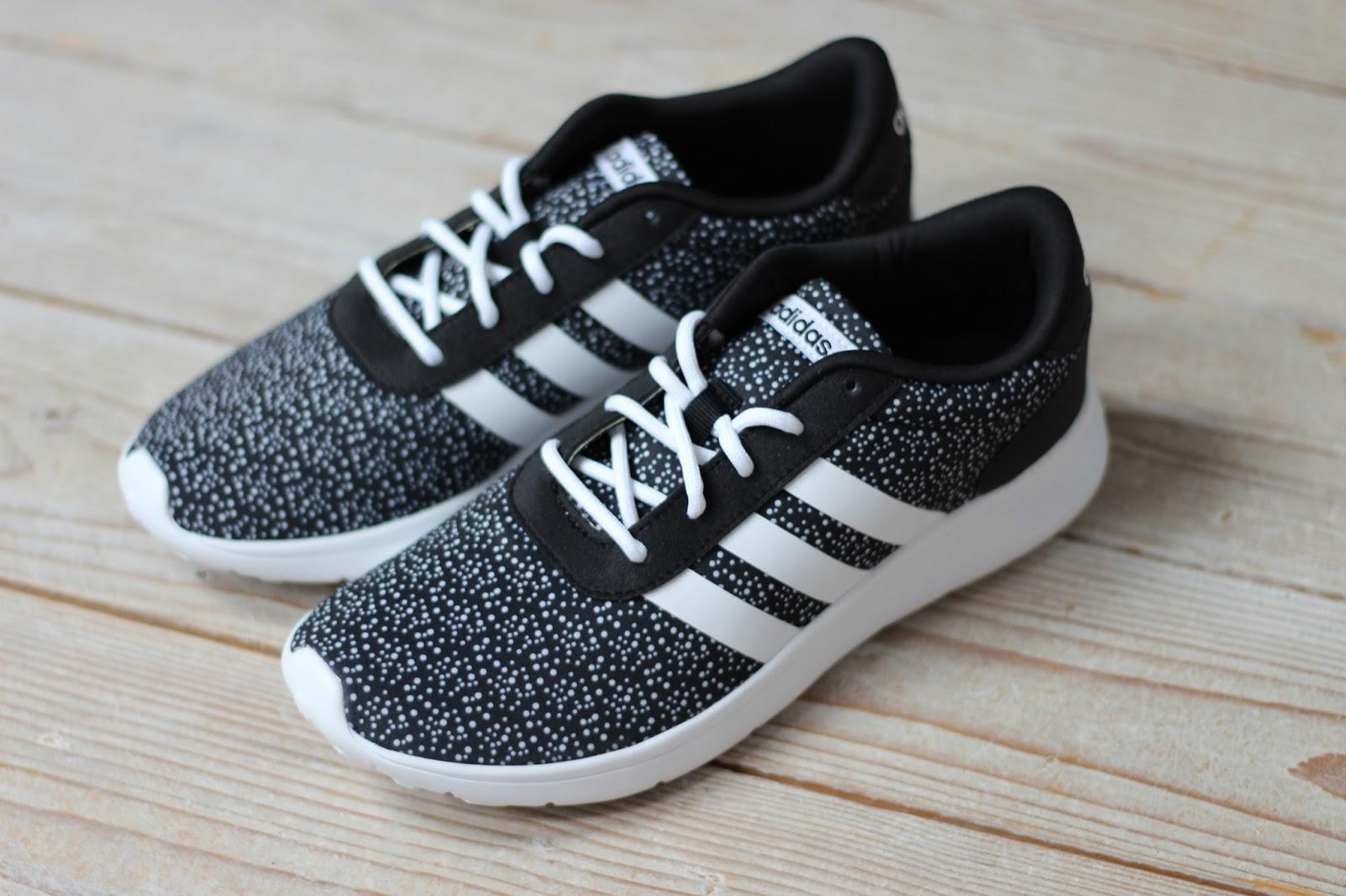 new product 47e01 56cff adidas neo lite racer zwart