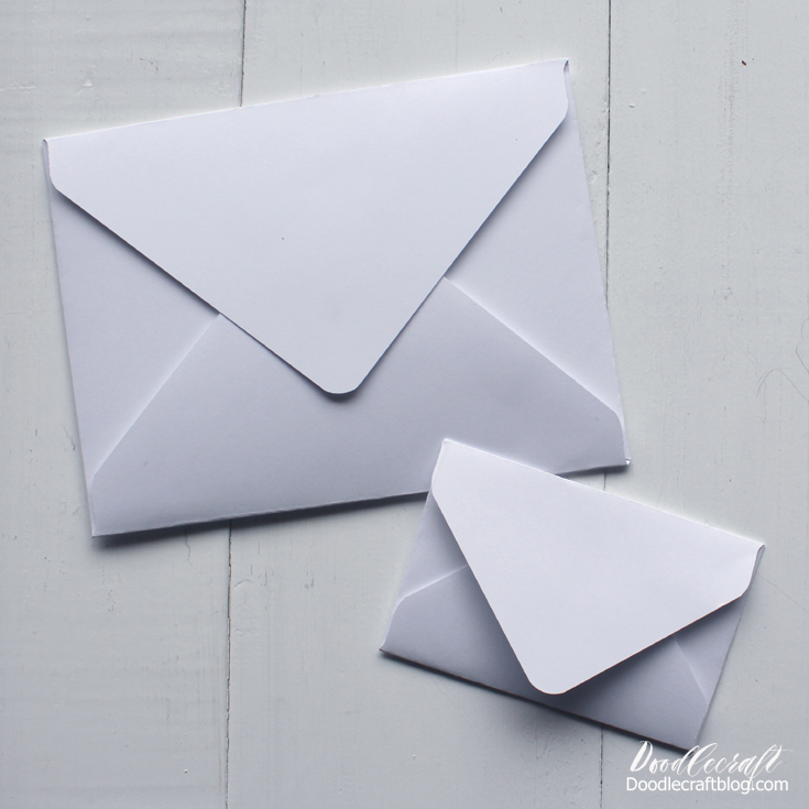 Perfect paper crafting envelopes of every size using we r memory keepers punch board.