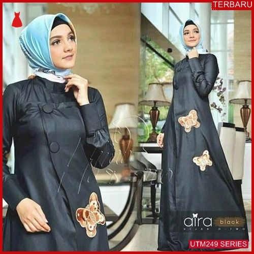 UTM249A86 Baju Aira Muslim Dress UTM249A86 0F9 | Terbaru BMGShop