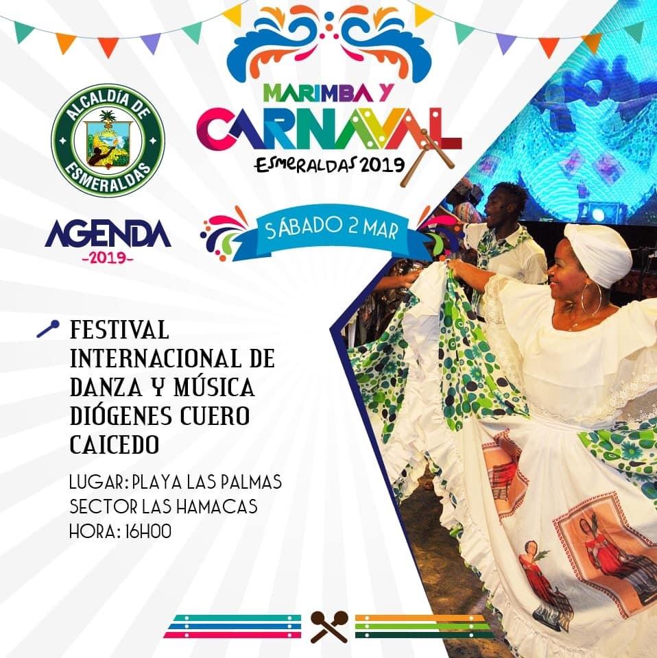 Programa completo Carnaval de Esmeraldas 2019