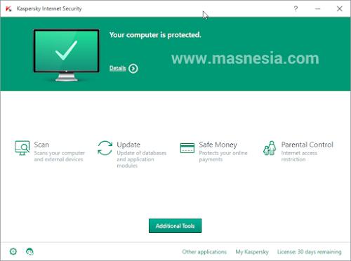 Asik !!! Sekarang KasperSky Hadir Di Windows Anda Gratis Terbaru