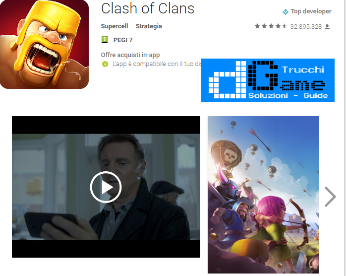 Trucchi Clash of Clans Mod Apk Android v 8.709.2