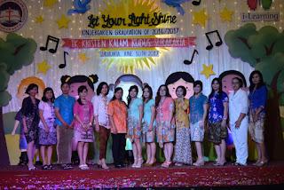 Let Your Light Shine: Pelepasan Siswa K2 TK Kalam Kudus
