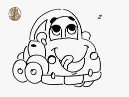 desenho de carrinho para pintar em fraldas