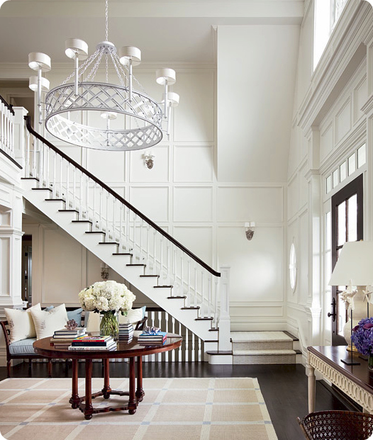 Look At Some Grand Foyers From Houzz Com: I Dream Of Entryways + Elements That Can Help Your