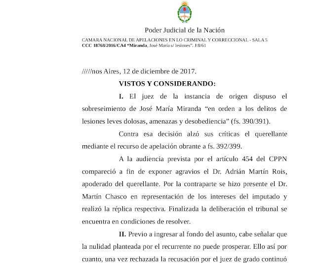 El Dr. Adrián Martín Rois da vuelta una causa donde el yerno de Susana Gimenez podría quedar preso