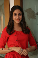 Actress Lavanya Tripathi Latest Pos in Red Dress at Radha Movie Success Meet .COM 0220.JPG