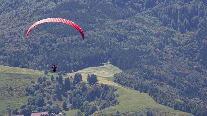Wallpaper: Sport Flight Skygliding Paragliding