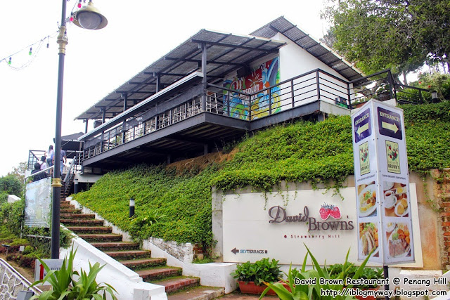 David Brown's Restaurant & Tea Terraces @ Penang Hill