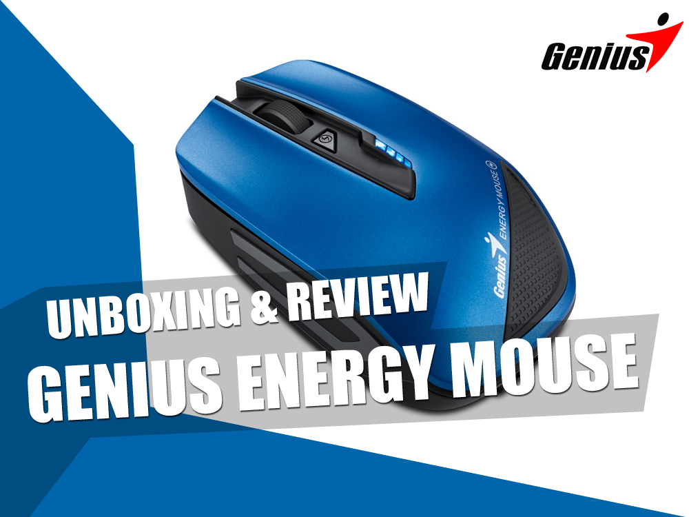 Unboxing & Review: Genius Energy Mouse 1