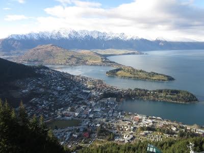 Queenstown, el lago Wakatipu y The Remarkables desde Bob's Peak, Nueva Zelanda