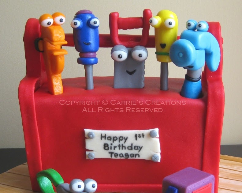 Blog Handy Manny Cake