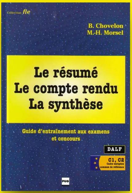 grande biblioth u00e8que   le r u00e9sum u00e9  le compte rendu  la synth u00e8se en pdf