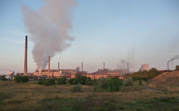 Авдііївка. Коксохімічний завод – один з найбільших виробників коксу для металургії в Європі