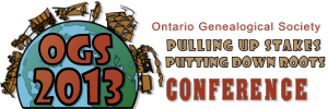 OGS Genealogy Conference 2013 May 31-June 2