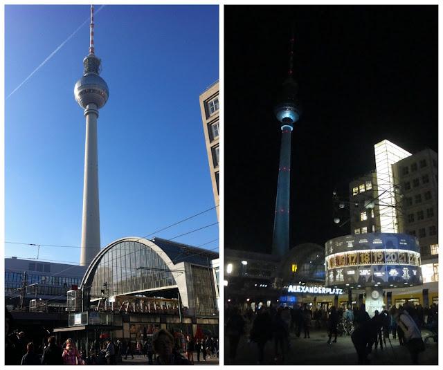 Alexanderplatz e Torre de TV - Berlim