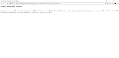 Ping Google Webmaster