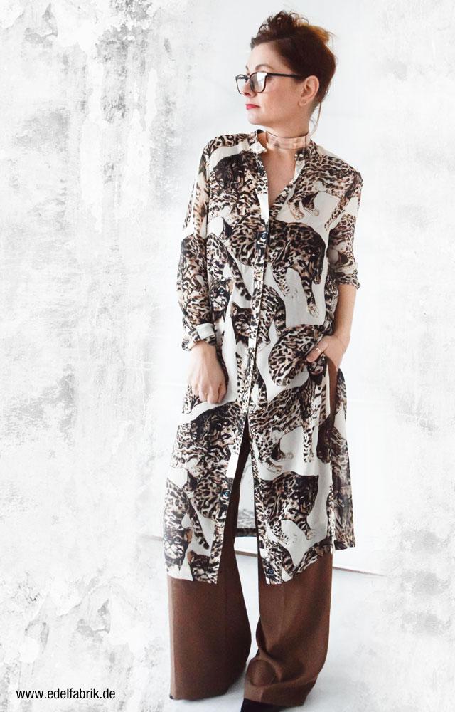 Wie trage ich eine lange Bluse, Longbluse Ü40 Modeblog