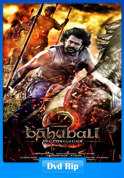 Baahubali 2 2017 Hindi DvDRip 300MB Movie