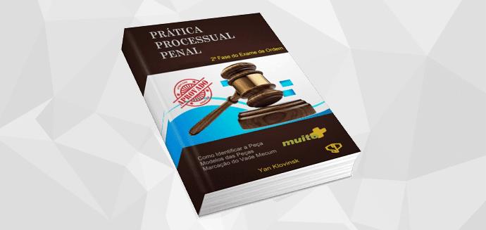 capa ebook prática processual penal