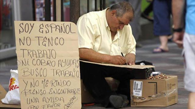 Cerca del 30% de los españoles está en riesgo de pobreza