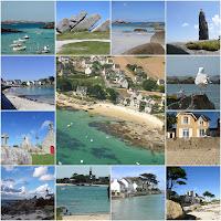 villa vue mer brignogan plage les pieds dans l'eau