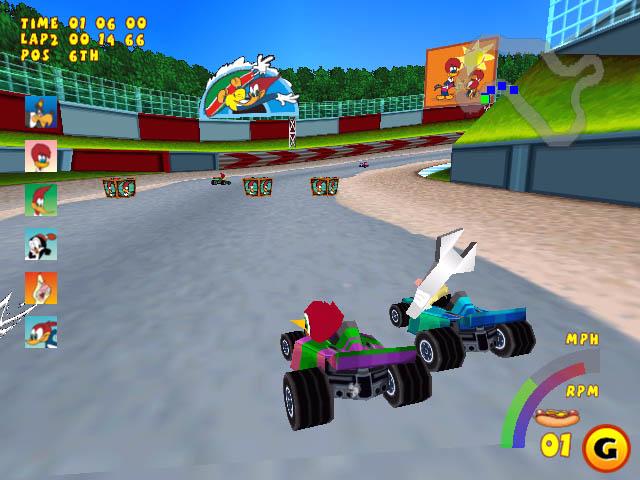 Baixar: Woody Woodpecker Racing - PC/PS1