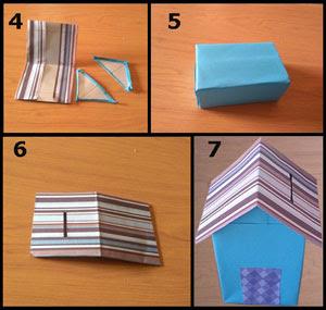 Gambar tutorial celengan dari kotak susu part 2