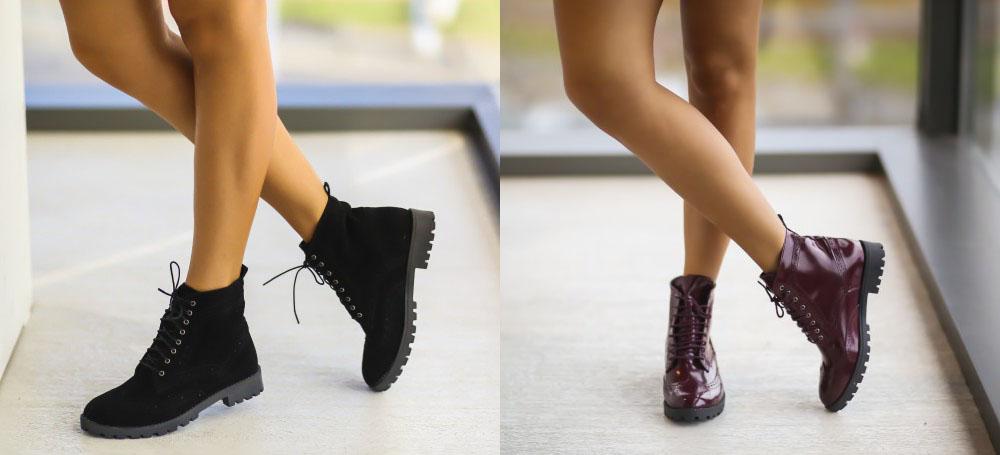 Ghete dama la moda negre, grena toamna iarna 2016 ieftine
