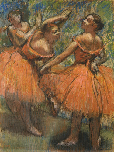 MAKING A MARK: The Degas Exhibition - notes for pastellists