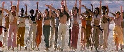 Secuencia del film Jesus Christ Superstar, de Universal Pictures (1973) - Baile de obertura