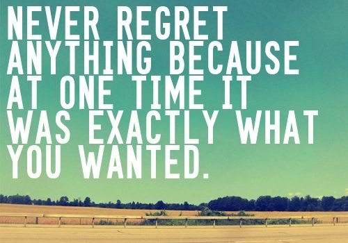 Regret Quotes And Sayings Best Quotes And Sayings