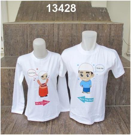 1b7a1f88b41 Baju Couple Muslimah | Griya Couple | Jual Baju couple | T-shirt ...