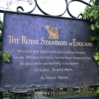 The Royal Standard of England alehouse pub in England