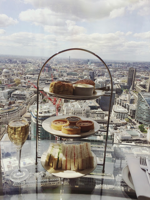Vertigo 42 Champagne Afternoon Tea Tower 42