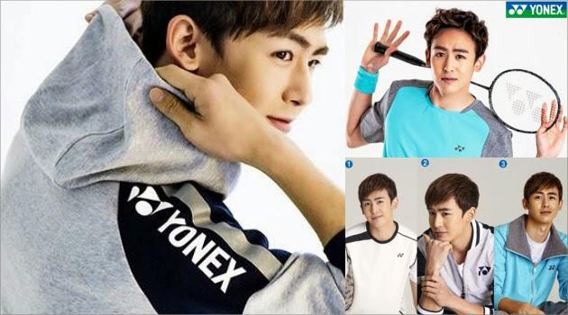 Wah… Nickhun '2PM' Jadi Endoser YONEX Korea!