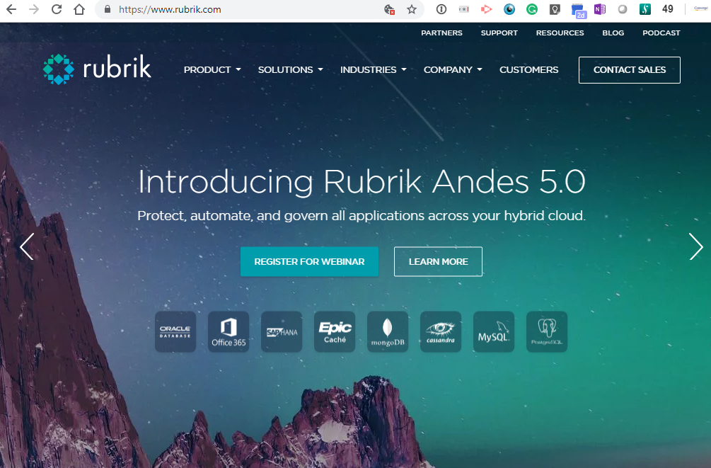 Converge! Network Digest: Rubrik adds $261 million in