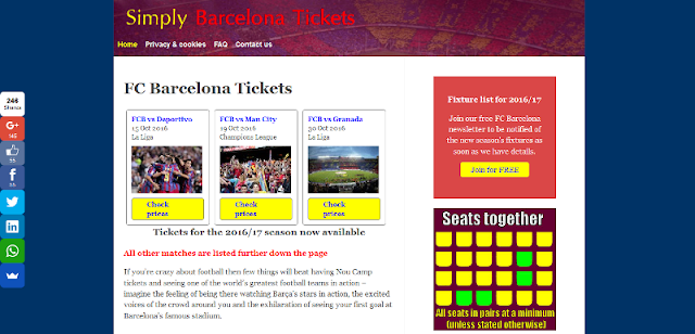 leading online supplier of FC Barcelona tickets