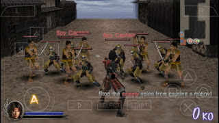 Game Samurai Warriors State of War PPSSPP ISO