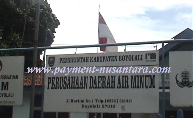 PPOB Bukopin, Loket Pembayaran PDAM Boyolali