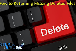 How to Returning File That Has Not Been Erased