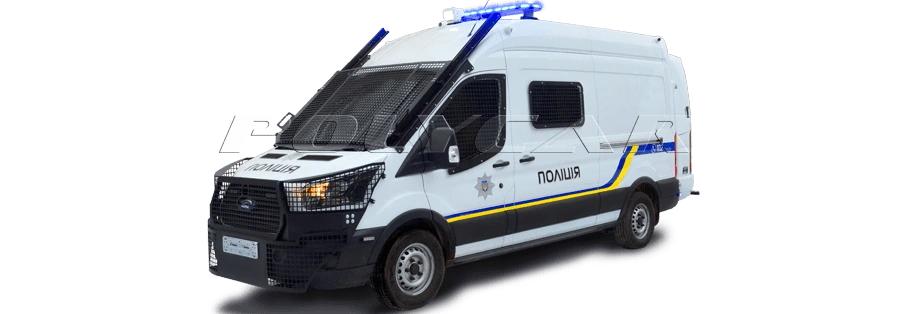 Нацгвардія придбала 58 мікроавтобусів Ford Transit