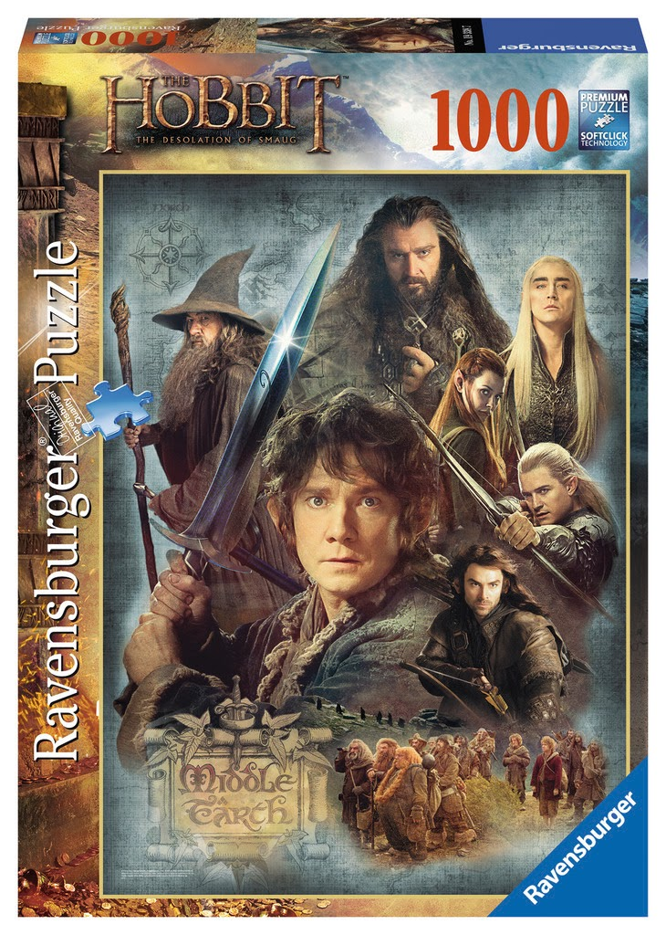 The Hobbit: The Desolation of Smaug Puzzle Merchandize