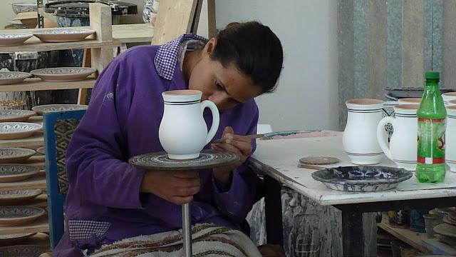 Le Souk Ceramique Mug  Tunisia