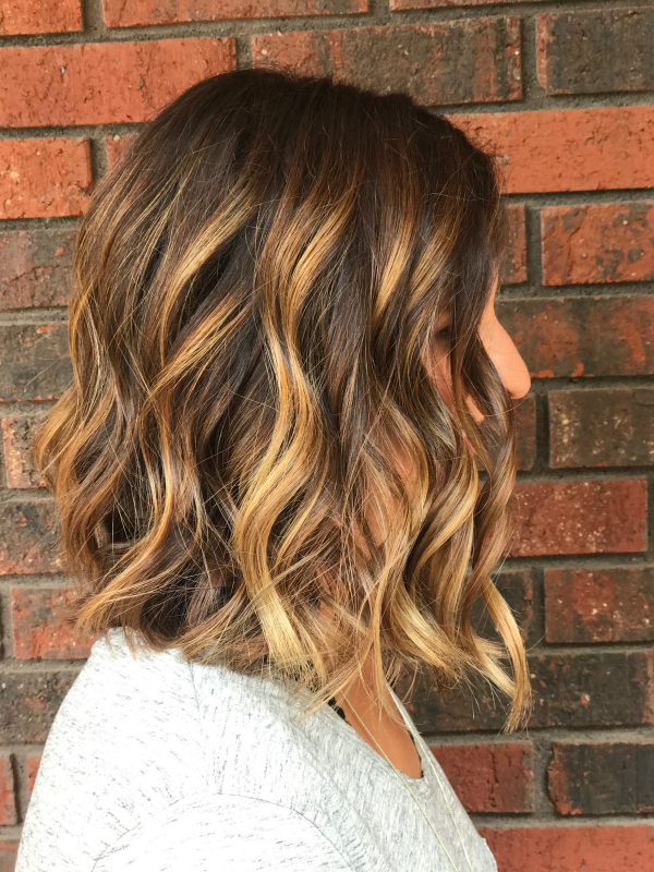 hair and beauty, short hairstyle, shadowed root, balayage highlights, beauty on a budget