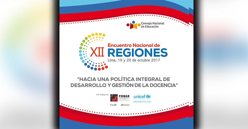 CNE organiza XII Encuentro Nacional de Regiones - www.cne.gob.pe