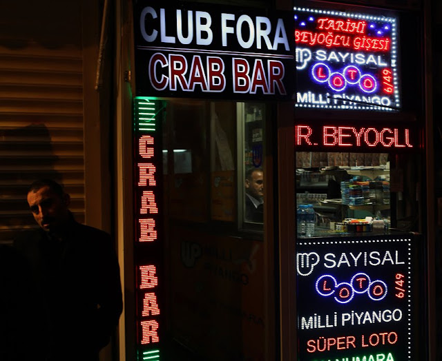 Bar Crab em Istambul na Turquia