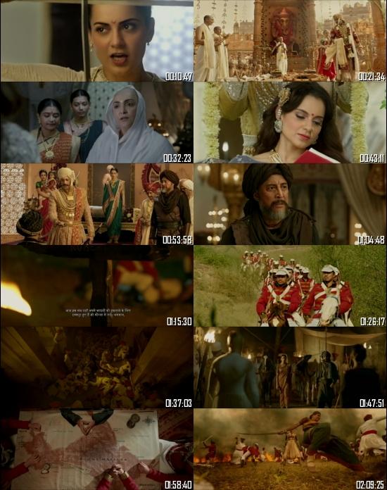 Manikarnika The Queen Of Jhansi 2019 Hindi 720p 480p HDRip x264 Full Movie
