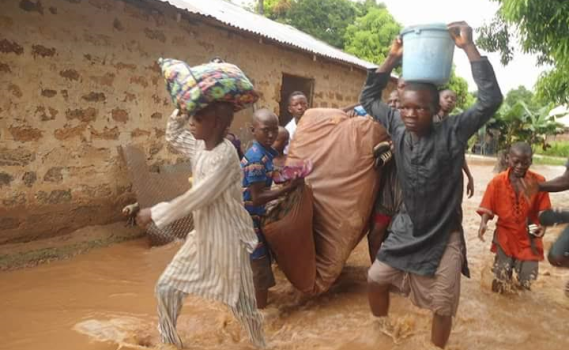 Photos: Flood ravages some communities in Niger state